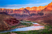 Colorado River Photos - Evening at Cardines by Inge Johnsson
