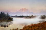 Andrew Soundarajan - Evening at Oxbow Bend