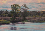 Gregory Arnett Paintings - Evening Calm by Gregory Arnett