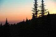 Mt Spokane Prints - Evening from the Top Print by Rusty Kidder