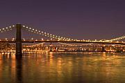 Evening II New York City Usa Print by Sabine Jacobs