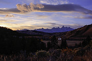 Gros Ventre Art - Evening in Gros Ventre by Angelique Rea