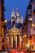 Sacre Coeur Photos - Evening in Paris by Brian Jannsen