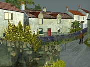 Kenneth North - Evening in the village.