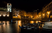 Carl Amoth - Evening in Vernazza -...
