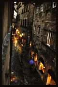 Adele Acrylic Prints - Evening In Volterra Acrylic Print by Adele Buttolph