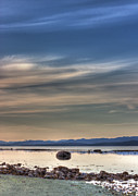 Bc Coast Photos - Evening Light On The Salish Sea by Randy Hall