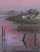 Florida Waterscape Originals - Evening Light by Susan Richardson