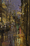 Oleg Trofimoff - Evening Rain in Paris