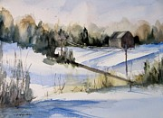 Rural Living Originals - Evening Shadows by Sandra Strohschein