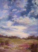 Evening Sky Pastels - Evening Sky by Barbara Smeaton