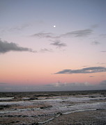 Moom Framed Prints - Evening Sky Framed Print by Megan Cohen