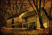 Evening Twilight Fades Away Print by Lois Bryan