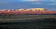 Emmett Photography Posters - Evening View of Squaw Butte Poster by Robert Bales