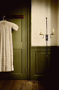 Nightgown Prints - Evening Wait Print by Margie Hurwich