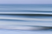 Snowstorm Prints Prints - Evening Waves Print by Katherine Gendreau