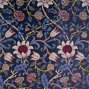 Featured Tapestries - Textiles Metal Prints - Evenlode Design Metal Print by William Morris