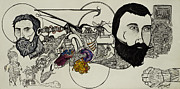 Mechanical Drawings - Ever Lasting Youth aka The Organ Eater by Nickolas Kossup