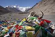 All - Everest and Prayer Flags by Hitendra SINKAR