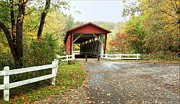Bridgescape Prints - Everett Road Covered Bridge Print by Daniel Behm