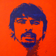Dave Grohl Paintings - Everlong by ID Goodall