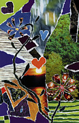 Gestures Mixed Media Acrylic Prints - Everyone Loves Their Nature Acrylic Print by Kenneth James