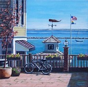 P Town Paintings - Everything Provincetown by Candice Ronesi
