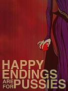 Happy Digital Art Posters - Evil Queen Poster by Christopher Ables