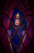 Purple Robe Metal Prints - Evil Queen Metal Print by Timothy Ramos