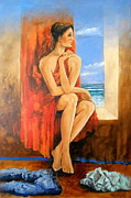 Passionate Paintings - Evocando El Mar by Nestor Martinez