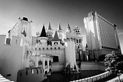 Excalibur Prints - excalibur hotel and casino Las Vegas Nevada USA Print by Joe Fox