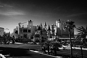 Excalibur Prints - excalibur hotel and casino on the Las Vegas boulevard strip Nevada USA Print by Joe Fox