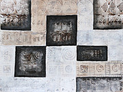 Treasury Paintings - Excavation I by Diana Perfect