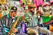 Micdesigns Originals - Excelsior Band Horn Players by Michael Thomas