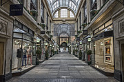 Steev Stamford Framed Prints - Exchange Arcade Framed Print by Steev Stamford