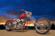 Fabrication Framed Prints - Executive Chopper 8 Framed Print by Dave Koontz
