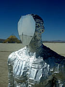 Mirror Sculptures - Exfoliate Reflection by Chad Rice