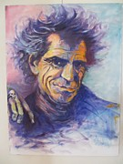 Keith Richards Art - Exile On Main Street by Patricia Maguire