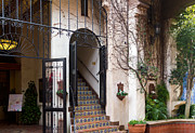 Grillwork Prints - Exotic Entrance Print by Bernard  Barcos