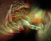 Vivacious Digital Art - Expanding 1 by Jeanne Liander