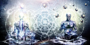 Experience So Lucid Discovery So Clear Print by Cameron Gray
