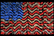 Stars And Stripes Digital Art - Exploding with Patriotism by John Farnan
