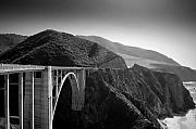Bixby Bridge Metal Prints - Explore Metal Print by Mike Irwin