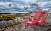 Halifax Prints - Explore the World Print by Betsy A Cutler East Coast Barrier Islands