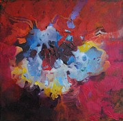 Sashka Mitrova - Explosion in red