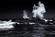 Sea Photo Originals - Explosion by Mike  Dawson