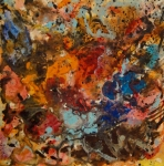 Explosive Chaos Print by Natalie Holland