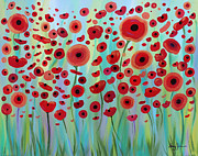 Stacey Zimmerman - Expressive Poppies