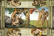 Michelangelo Di Lodovico Buonarroti Simoni - Expulsion from Paradise by Michelangelo di Lodovico Buonarroti Simoni