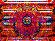 Trippy Posters - Extraordinary Powers Poster by Robert Orinski
